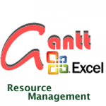 gantt free con Excel - resource management